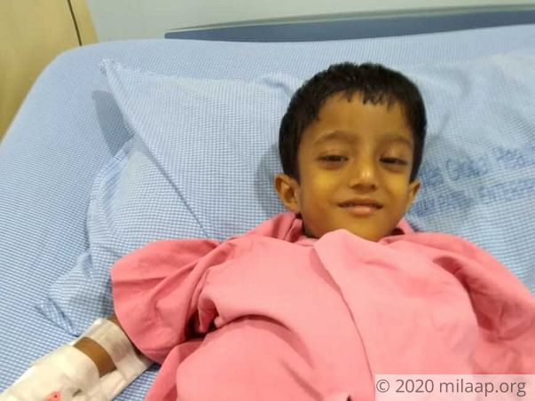 Sai Ganesh is in a critical condition and needs urgent help