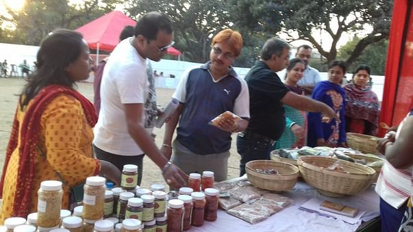 Safe food fair by Bhoomika campaign supported by CWS