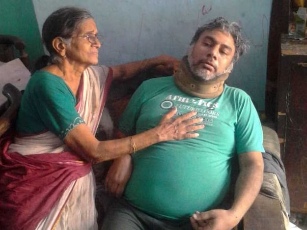 80 Yrs Old Mother Struggling Due To Son's Mental illness & House Fire
