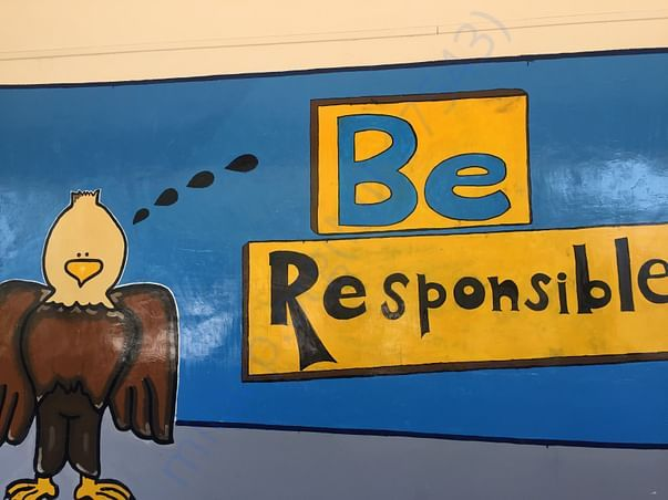 More messages for children to learn from the walls too..