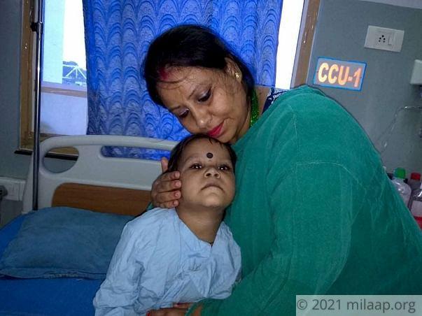 Help 3-year-old Gunjan get a life-saving heart surgery