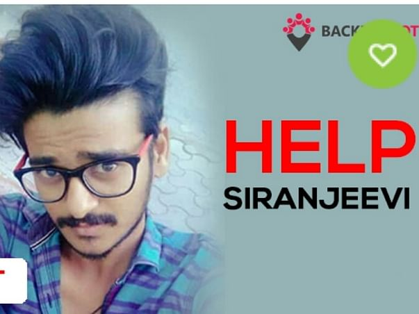 Help Siranjeevi Raj M Who Met With An Accident