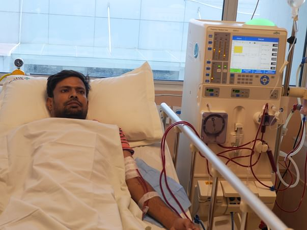 Help Bibek raise funds for monthly dialysis