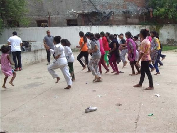 Pads for the Kilkari Girls