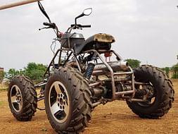 Help TEAM MECHAHOLICS build an ATV QUAD to conquer the rough terrains