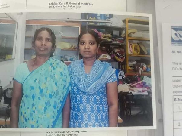 Help Sandhya For Her Stomach Surgery