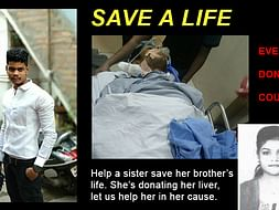 Help A Sister Saver Her Brother From Liver Failure