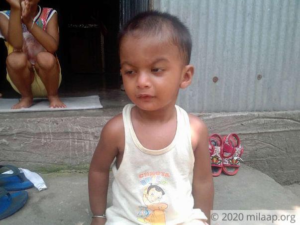 Help little Angshu get an urgent heart surgery