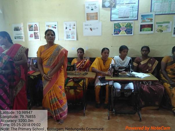 Support Rural Poor Women's Livelihood Skill Training