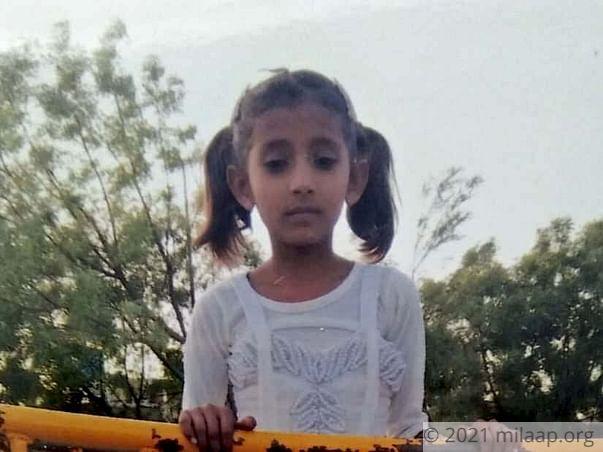 Zeenat will succumb to fatal kidney disease without help in 24 hours