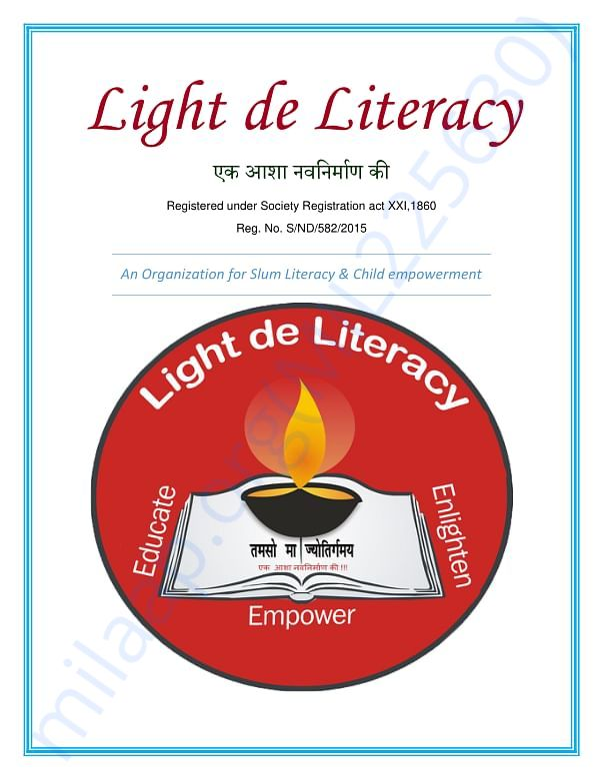 Light the Literacy Brochure