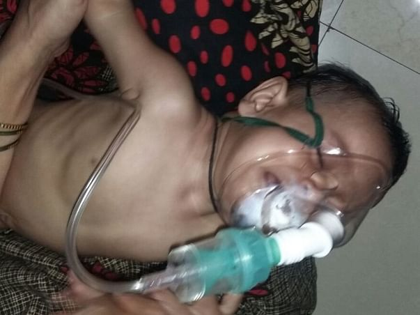 Kid Suffering from Heart and Kidney issues