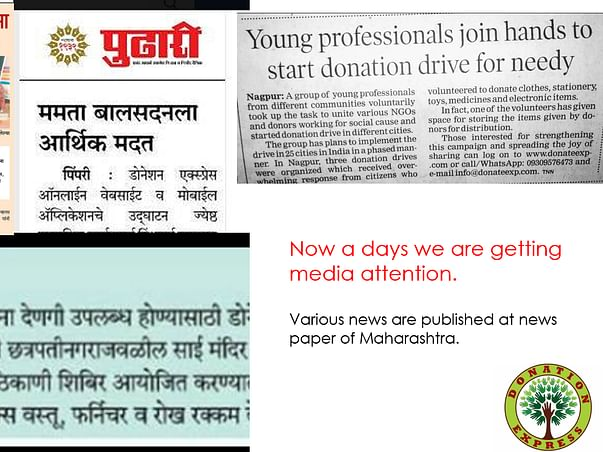 Help Young Professional Join Hands to Start Donation Express for Needy
