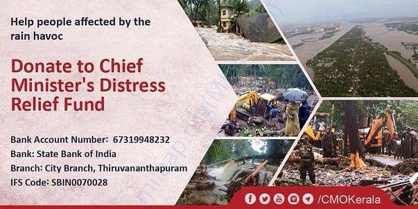 Kerala flood victims help Aug10 2018