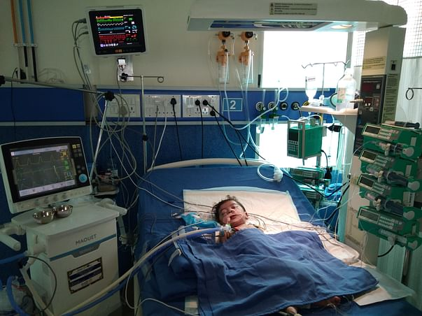 Baby Panchami with fragile lungs is fighting for life. Please help.