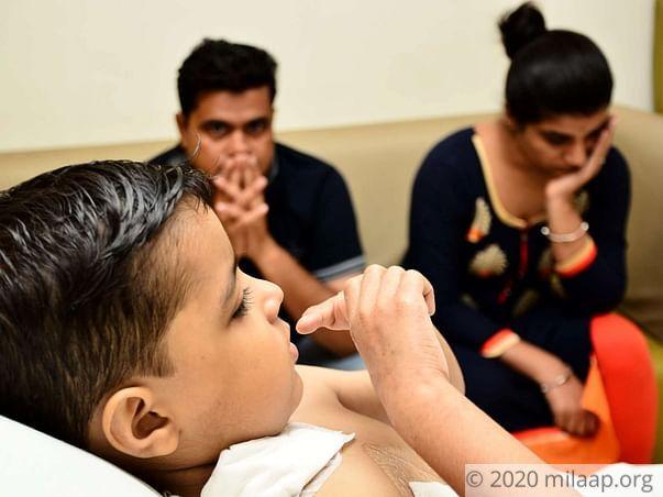 ५ साल के बच्चे की होगी निश्चित मौत एक अर्जेंट ट्राँसप्लाँट के  बिना