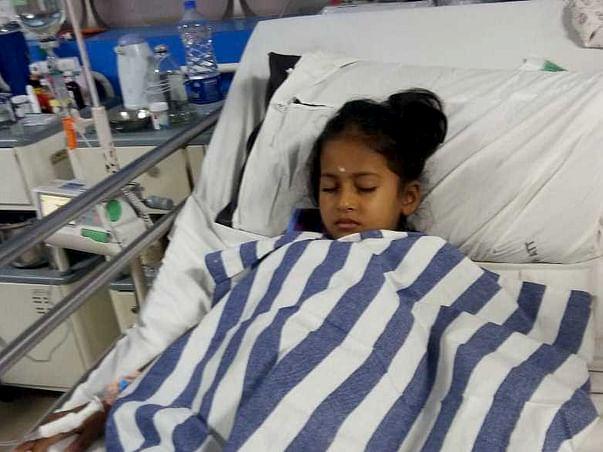 Help 7 year old Sahitya fight Blood Cancer