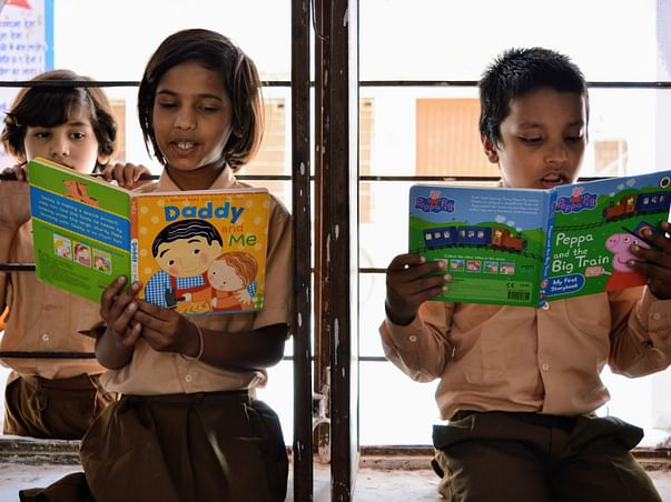 Read to Freedom, by Share a Book, India Association