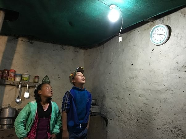 Help me Provide electricity to a remote village in Ladakh!