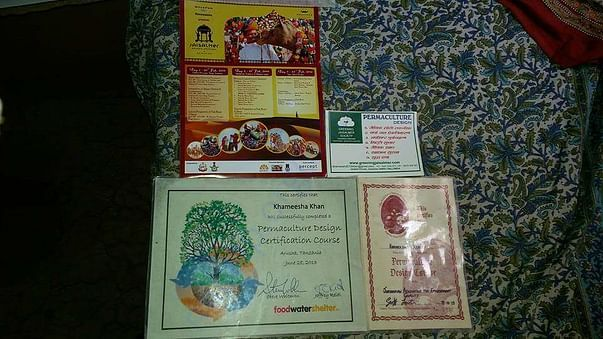 Permaculture certificates