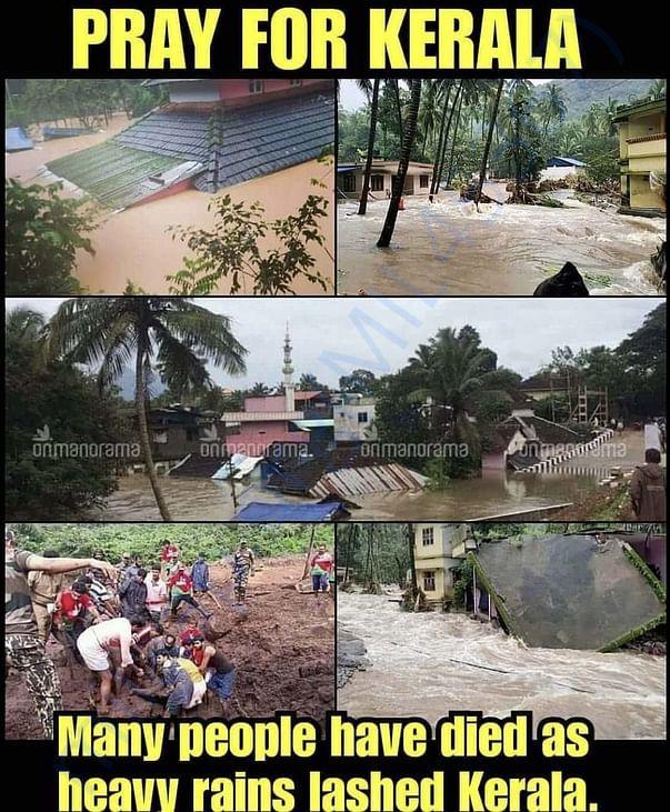 Flood areas situation