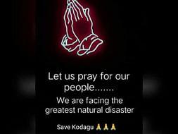 Help Kodagu #CoorgNeedsYourSupport