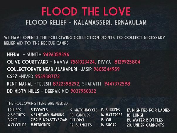 Kerala Flood Relief Fund By TCS Kochi Volunteers