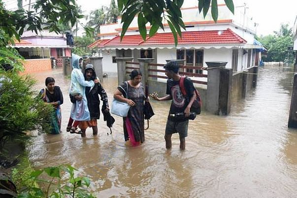 Peoples are escalating from their houses and asking for help