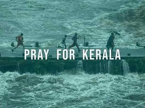 HELP AND SUPPORT KERALA PEOPLE UNDER FLOOD