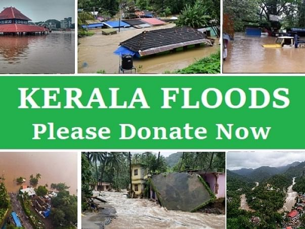 Help the  kerala  flood victims project