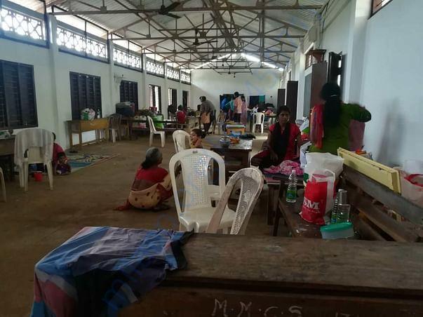 flood relief camp