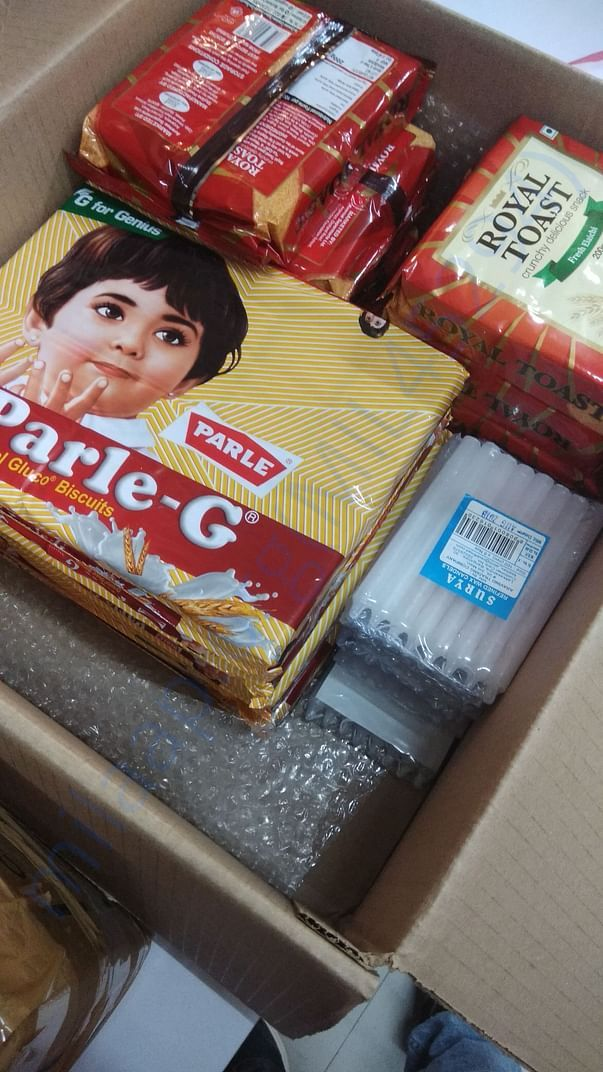 Items we have shipped from banglore on Aug 18th night