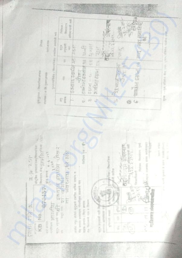 Ration Card Documents