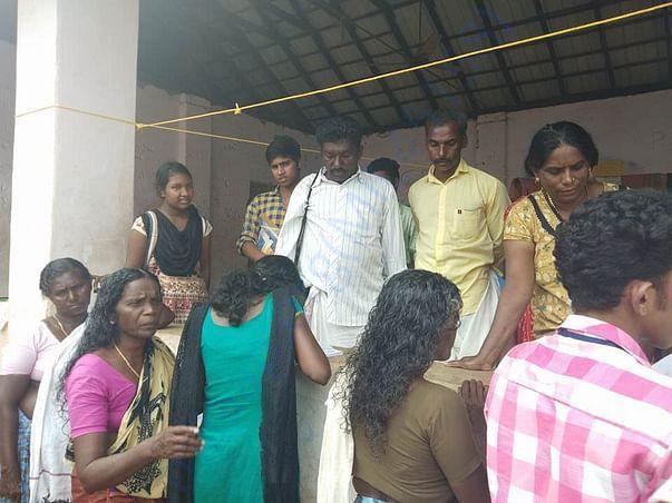 Collecting Data, work at Cheriyanadu, Chenganoor - Lokkutara Academy