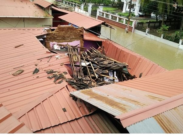 Reconstruction For My Uncle's House After The Kerala Floods