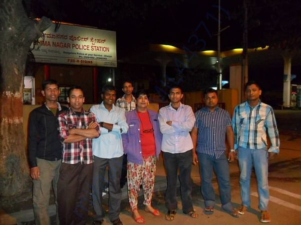 After resolving the Assam boys problem at Police Station