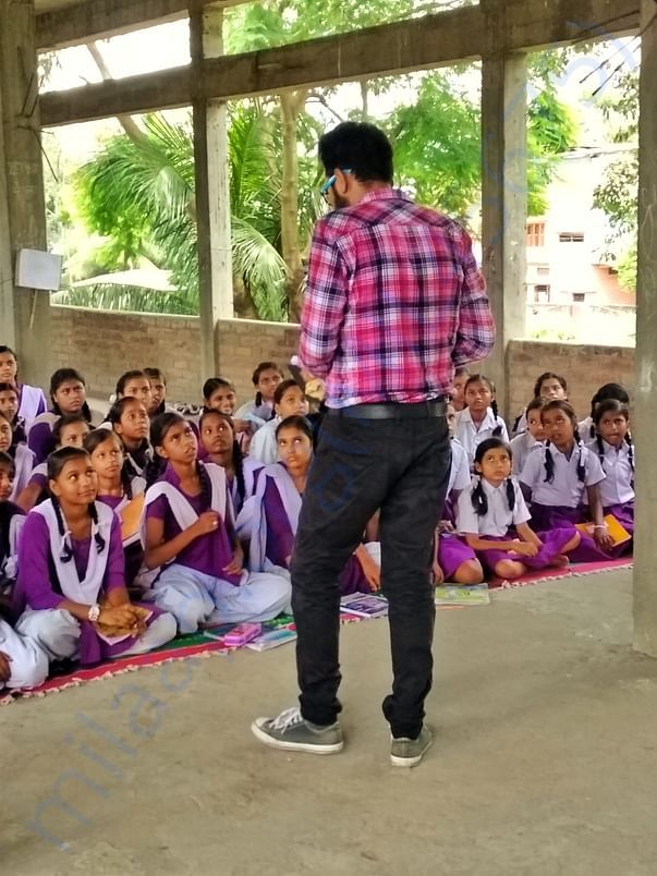 Discussions with adolescent girls