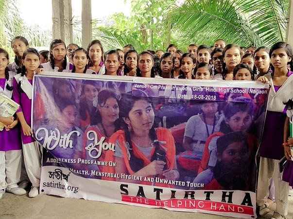 Support Menstrual Hygiene Of Adolescent Girls Of 100 Schools In Assam