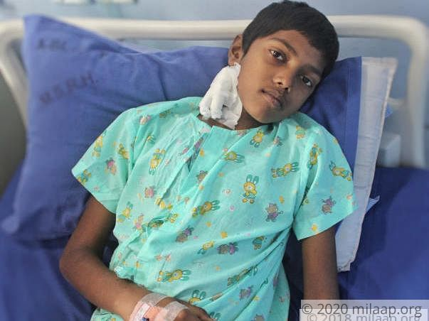 Within 24 Hours, 14-Year-Old's Cancer Damaged His Organs, Needs Help