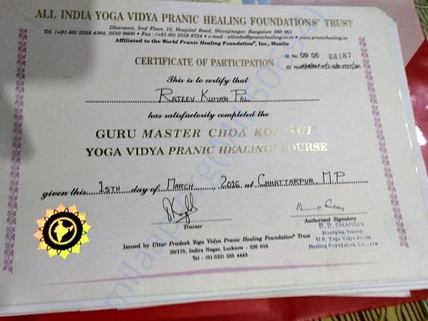 I am Pranic Healer