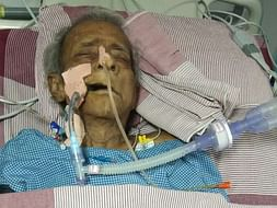 Help Putta Swamy Critical on Ventilator Support.