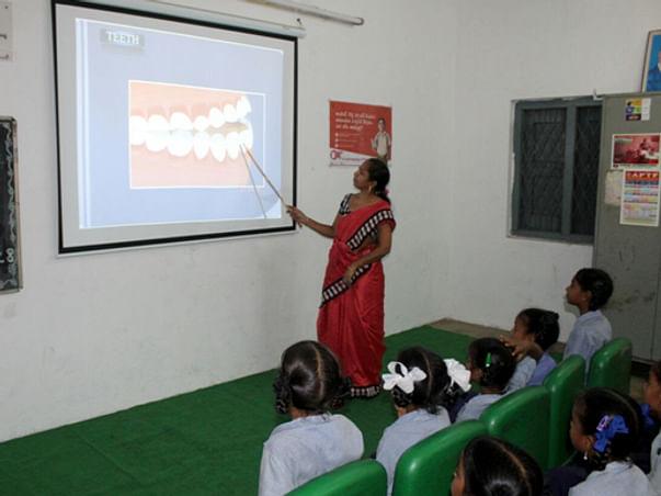 Digital Education for children living in Slums/Jhuggis