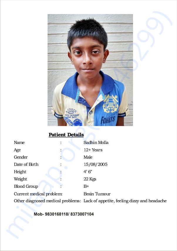 Medical reports of Sadhin