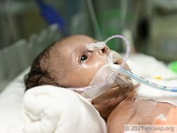 Sraveena's baby is in a critical state and needs urgent help