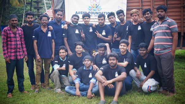 Here Aasya Family members worked for #keralafloodrelief