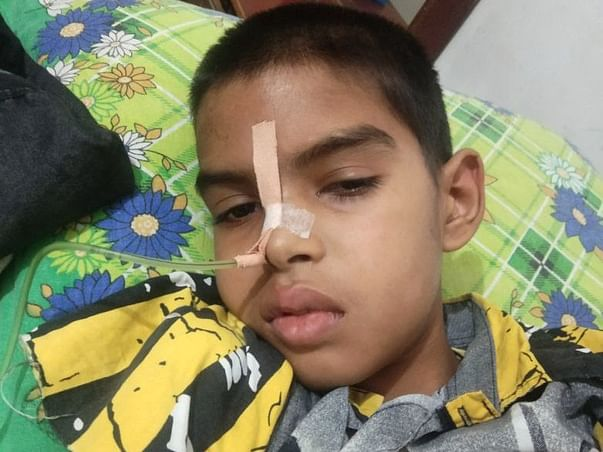 Help Ansh For Brain Tumor Treatment