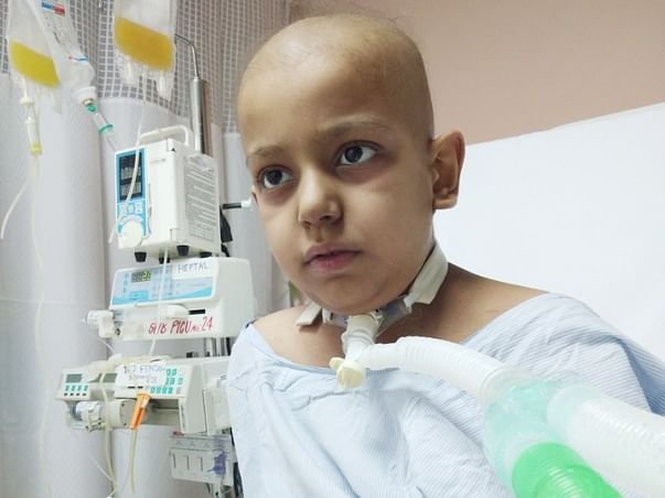 Help Shaurya Fight Against Cancer