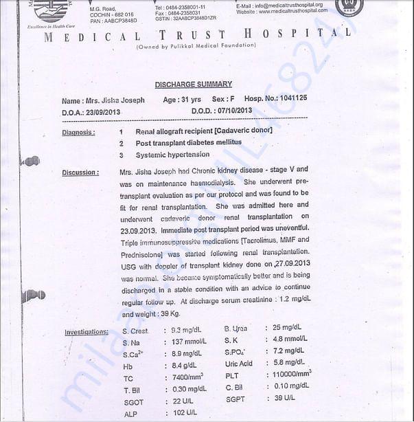 Renal Transplant Document