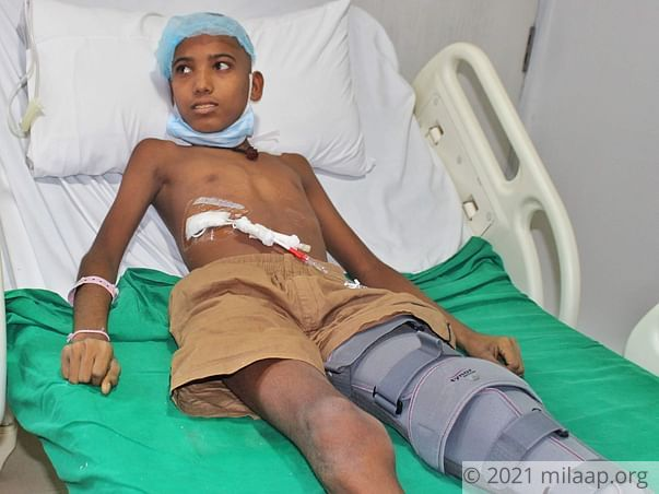 13-Year-Old Who Dreams Of Becoming An IAS Officer Is Now Bedridden