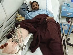 Help Ajay Kumar who met with an major accident , he lost his parents